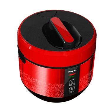 Yong Ma MC 3400 Teflon BlackTinum Rice Cooker - Merah