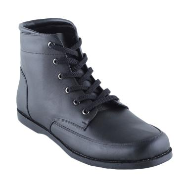 Eclipse 7 Budapest Leather Boot Men Shoes - Black