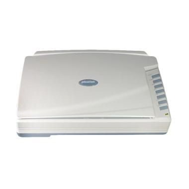Plustek A320 Flatbed Scanner - Putih [A3+/8.5 Detik per Lembar]