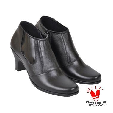 JAVA SEVEN Maura Kulit JUP 102 Sepatu Formal Wanita - Hitam
