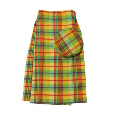 Mukena Dinda C26 Sarung Celana Anak - Yellow Tan