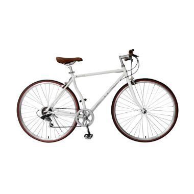London Taxi Roadbike 700 C 6 Speed Sepeda - White