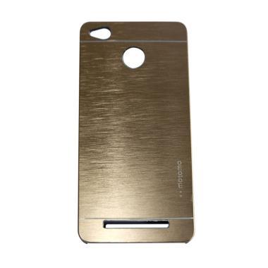 Motomo Hardcase Casing for Xiaomi Redmi 3X - Gold