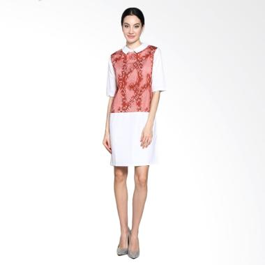 Bhatara Batik 2497P MPP Wenny Midi Dress - Peach