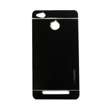Motomo Hardcase Casing for Xiaomi Redmi 3X - Black