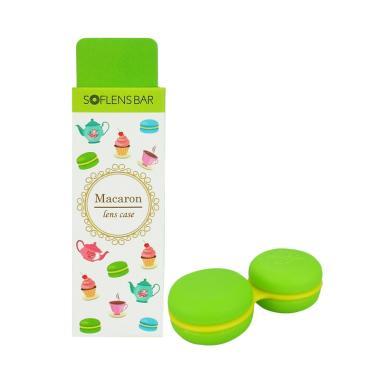 Soflensbar Macaron Contact Lens Case - Green
