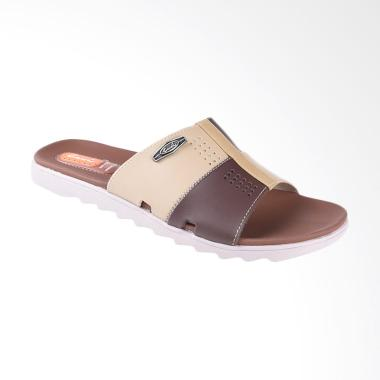 Carvil Qiu-Qiu Sandal Casual Pria - Dark Brown 993M