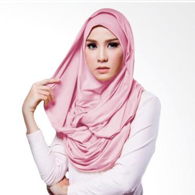 Milyarda Hijab Hana Twist Kerudung - Pink