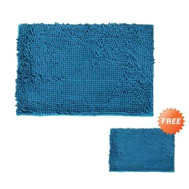 Buy 1 Get 1 Sugu Keset Kaki Cendol - Biru Terang [60 x 40 cm]