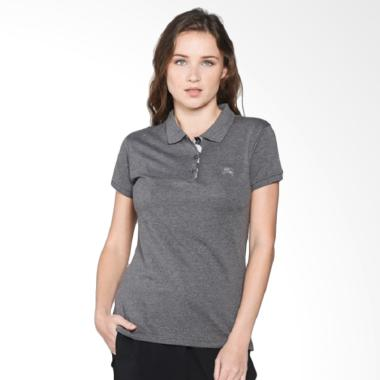 Burberry Short Sleeve Polo Shirt - Grey