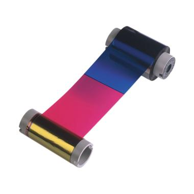 Fargo DTC4500 FAR-45200 YMCKO Color Ribbon [500 Images Prints]