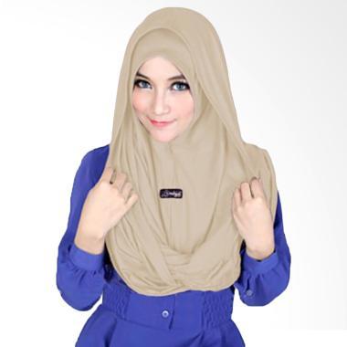 Milyarda Hijab Sosor Twist Kerudung - Coklat Muda