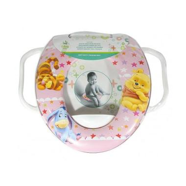 Soft Baby Potty Seat Pooh Pink With Handle