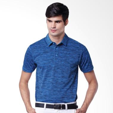 Svingolf Pure Polo Baju Golf - Flat Blue Black