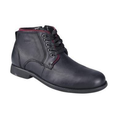 Jim Joker 1BA Casual Home Sepatu Boot Pria - Black