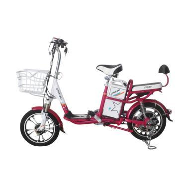 Langtu New Coyote Type Sepeda Listrik - Pink