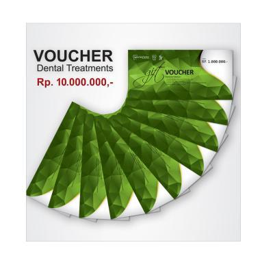 NOTO Klinik Voucher Perawatan Gigi [Rp. 10.000.000]