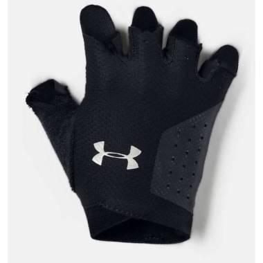 Under Armour Women's  Light Training Gloves-BLACK -  - SILVER XS
