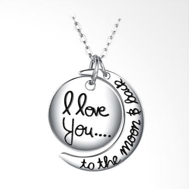 SOXY SH-N0098 New Fashion Jewelry 925 Sterling Silver Romantic Love Kalung