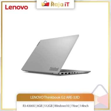 harga LENOVO Thinkbook G2 ARE-3JID (R3-4300U/8GB/512GB/Win10+OHS/1Year/14In) Blibli.com
