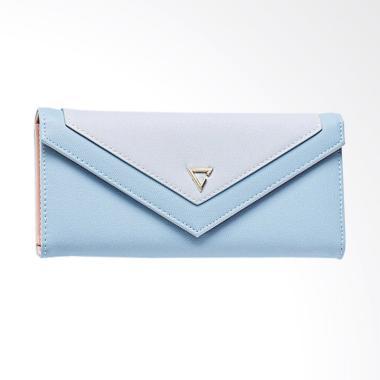 Aamour Envelope Wallet Dompet Wanita - Blue