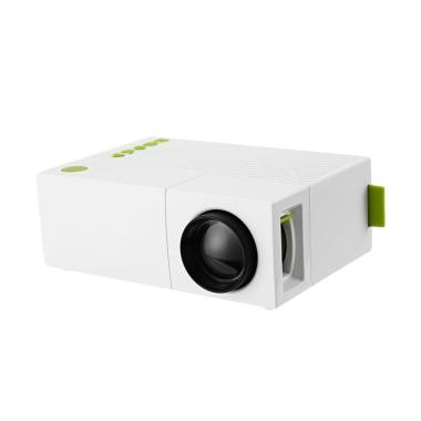 Unic YG310 Glitz Mini Proyektor - Putih [Original]