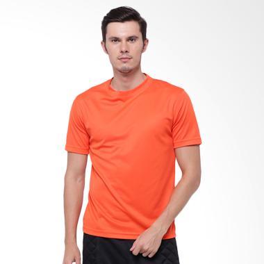 Hitscore T-Shirt Kaos Oblong Lengan Pendek - Orange