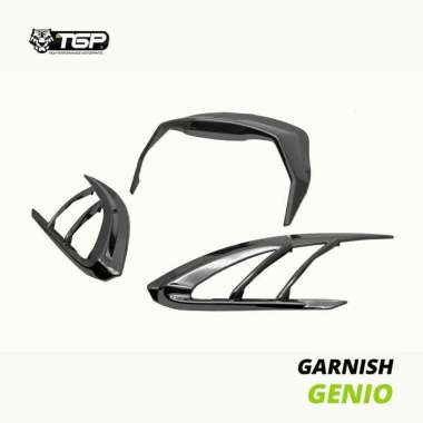 harga Variasi Garnish Aksesoris Lampu Depan Motor Honda Genio Black Blibli.com