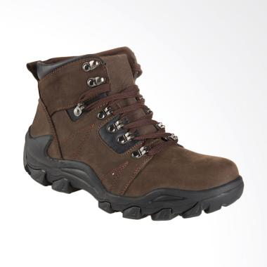 Jim Joker Boot Shoes Oslo 02B Sepatu Pria - Coffee