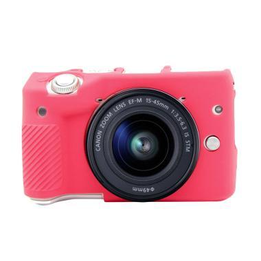 Godric Silicone Case for Canon EOS M3 - Pink Tua