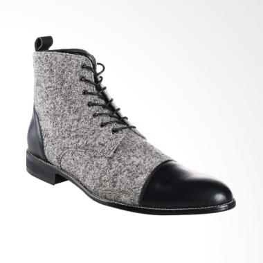 Ftale Footwear Fabrizio Sepatu Pria - Grey