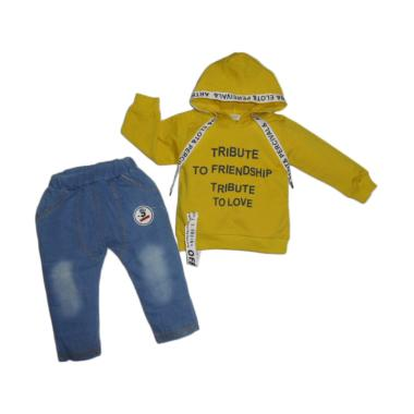 VERINA BABY Atasan Sweater Hodie Kuning ... 41f262d2fd