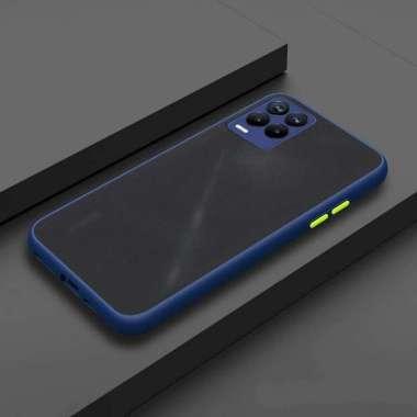 harga Casing Softcase Bumper Case RealMe 3 / RealMe 3 Pro / RealMe 8 / RealMe 8 Pro / RealMe C20 / RealMe C21 / RealMe C25 Kesing Mika Silicon Case HP RealMe 3 Pro Navy Blue Blibli.com