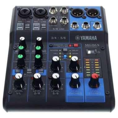 harga Mixer Yamaha MG06X 6Channel effect vocal reverb Yamaha MG 06X MULTICOLOUR Blibli.com