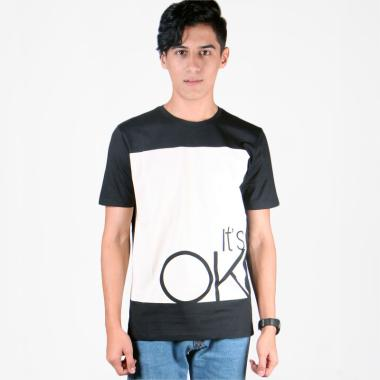 180 Degrees OK T-Shirt Pria