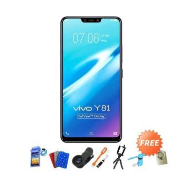 VIVO Y81 Smartphone - Hitam [16GB/ 3GB] + Free Aksesoris 10 pcs