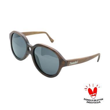 Sandel Eyewear Fashion Merceka Hitam Kayu Sunglasses 6bc5ad4e3c