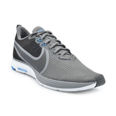 2fe7154459e35 NIKE Zoom Strike 2 Men Running Shoes - Grey [AO1912-006]