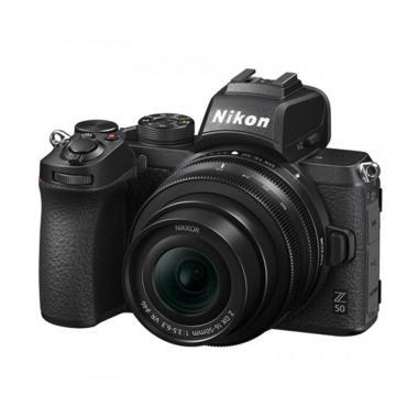 harga Resmi Nikon Z50 16-50 mm Kamera Mirrorless Kit Free SD Card 16GB + Lowepro + SmallRig + Tripod Berlaku s/d 30 April 2021 - LADANG Hitam - Blibli.com