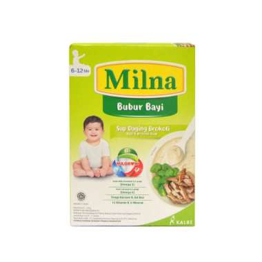 harga Milna Bubur Bayi 6-12 Bulan Rasa Sup Daging Brokoli [120gram] Blibli.com