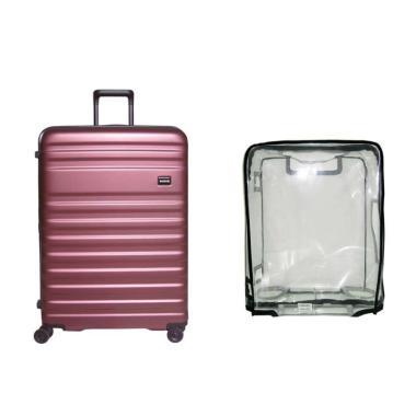 Bagasi Bundling Bidara Hardcase Koper with Luggage Cover Large [Large/ 29 Inch]
