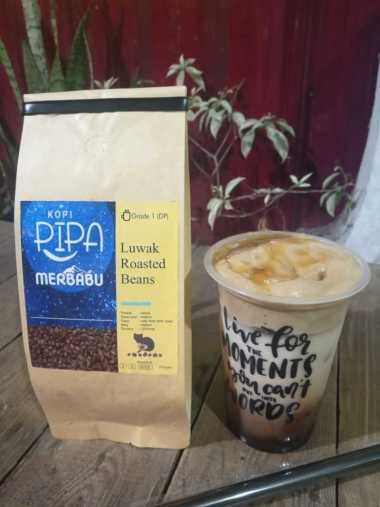 Kopi PIPA Extrude Roasted/ Ground Bean Kopi Luwak