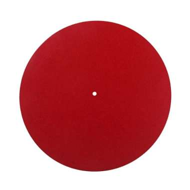 harga Turntable Slipmat Anti-Static Wool Mat - 30cm Phonograph Record Player Red - Blibli.com