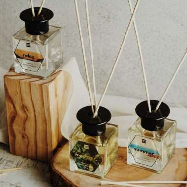 harga Muno Folk Reed Diffuser Aromatherapy - Relax Lavender [100mL] Blibli.com