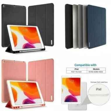 harga Case iPad Mini 5 2019 / Mini 4 Dux Ducis Domo Series Flip Cover Casing - black - Blibli.com