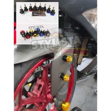 harga Jalu baut spakbor Fast Bikes NMAX XMAX Aerox 155 Aksesoris Motor Blibli.com