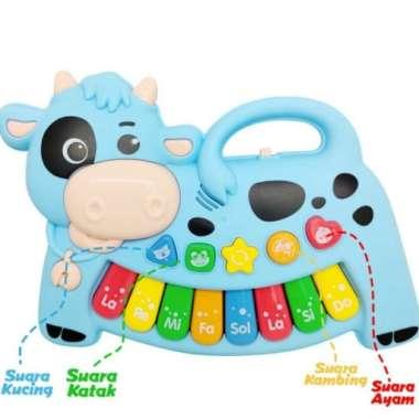 harga Amanah Toys Mainan Anak Bayi Piano Suara Hewan Musik Cow Sapi Baby Toys Blibli.com