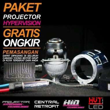 harga Projector Hypervision Blue Lens 2,5inch Paket Lengkap by Yoong Motor Indonesia Chrome Blibli.com