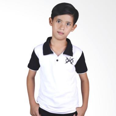 Catenzo Junior Wangki Kaiden CPL 103 Atasan Anak Laki-laki - Putih