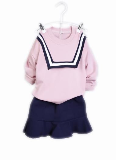 harga Chloe Babyshop F945 Setelan Korea Rok - Pink 9 Pink Blibli.com